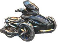 AS Can-Am Spyder ST-S Relief