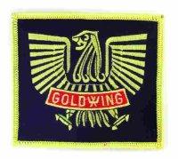 """Aufnähwappen """" GOLD-WING"""""""