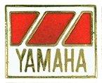 AS YAMAHA Abz. rechteckig rot/weiß