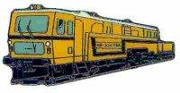 KK Diesell. Gleisbaumaschine gelb*