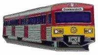 KK Dieseltriebwagen Taunusbahn rot oran*