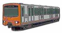 KK U-Bahnwagen 251 MIVB orange*