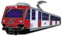 KK Triebwagen 012 Napoli-Vesuv rot/weiß*