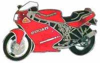 AS DUCATI 750 SS Racing rot*