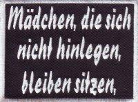 """Patch FP0043 """"Mädchen die sich nicht..."""