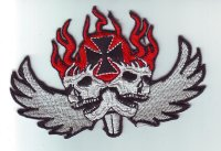 """Patch FP0185 """"Iron Cross with Skulls"""""""