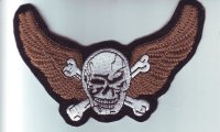 """Patch FP0196 """"Skull with Wings"""""""