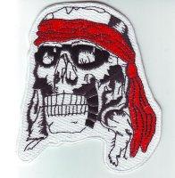 """Patch FP202 """"Skull mit Stirnband"""""""