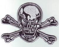 "Patch FP0204 ""Totenkopf, Pirat, Skull"""