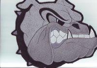 "Rückenpatch FRP005 ""Bulldogge"""