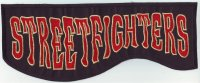 """Rückenpatch FRP010 """"Streetfighters"""""""