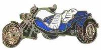 AS TRIKE blau* Keyring
