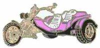 AS TRIKE pink* Keyring