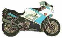 AS TRIUMPH Daytona 1000 weiß/blau* Keyring