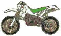 AS KTM ENDURO 600 Bj. 91 weiß/grün* Keyring