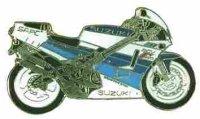 AS SUZUKI RGV 250 blau/weiß* Keyring