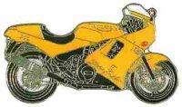 AS TRIUMPH Daytona gelb Mod. 93* Keyring
