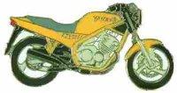 AS YAMAHA XJ 600 N gelb Mod. 94* Keyring