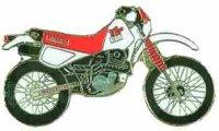 AS YAMAHA TT 600 rot Modell 93* Keyring