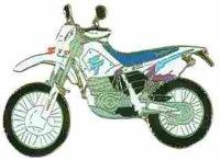 AS YAMAHA TT 600 blau/weiß Mod. 94* Keyring