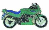 AS KAWASAKI GPZ 500 S grün Bj. 94* Keyring