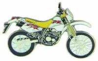 AS SUZUKI DR 350 gelb/weiß* Keyring
