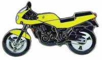 AS MuZ Skorpion 660 Sport gelb* Keyring