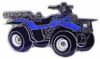 AS SUZUKI LT-F 4 WD blau/schwarz* Keyring