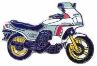 AS HONDA CX 500 Turbo weiß* Keyring