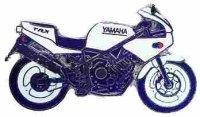 AS YAMAHA TRX 850 weiß* Keyring