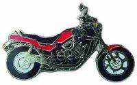 AS YAMAHA FZX 750 rot/schwarz* Keyring