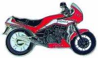AS HONDA CBX 750 F rot* Keyring