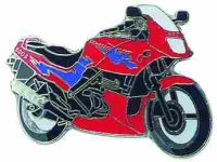 AS KAWASAKI GPZ 500 S rot Mod.95* Keyring