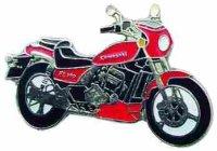AS KAWASAKI EL 250 E rot Modell 95* Keyring
