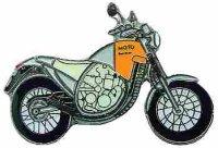 AS APRILIA Moto 6,5 silber/orange* Keyring