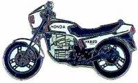 AS HONDA CX 500 E weiß* Keyring