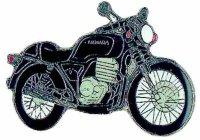 AS HONDA Clubman GB 500 schwarz* Keyring