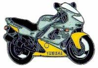 AS YAMAHA YZF 600R/96 gelb Thunder Cat* Keyring