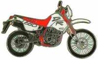 AS SUZUKI DR 650 R rot/weiß*