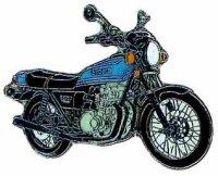 AS SUZUKI GS 750 blau/Mod.77* Keyring