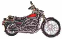 AS HARLEY Low Rider FXLR rot