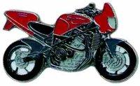 AS HARRIS Streetbike rot* Keyring