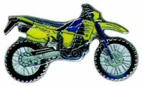 AS HUSABERG FE 501 gelb/blau Mod.98* Keyring