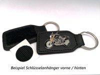 AS SACHS Roadster schwarz / gelb* Keyring