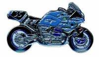 AS BMW Bot Rennmaschine Modell 99 blau* Keyring