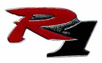 AS YAMAHA R 1 Logo* Keyring