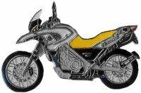 AS BMW F 650/2002 silber/gelb* Keyring