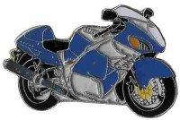 AS SUZUKI GSX 1300 R Hayabusa blau 2002* Keyring