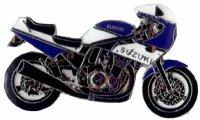 AS SUZUKI GS 1200 SS blau/weiß 03* Keyring