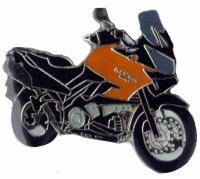 AS KAWASAKI KLV 1000 orange 2004 Keyring